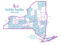 New York State Program Sites Map